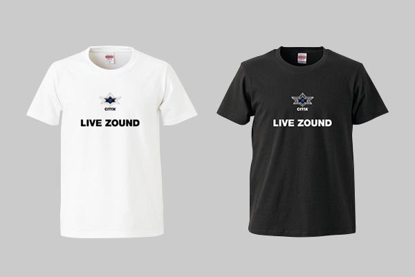 LIVE ZOUNDロゴTシャツ